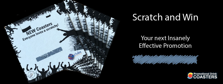 Scratch and Win Drinks Coasters Your Insanely Effective Promotion