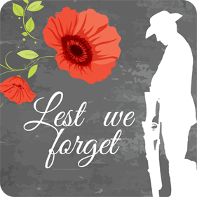 remembrance drink coasters